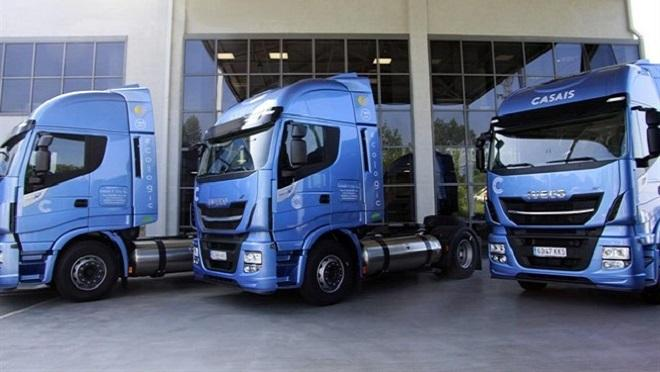Las ventas de camiones y autobuses descienden el 11% en febrero