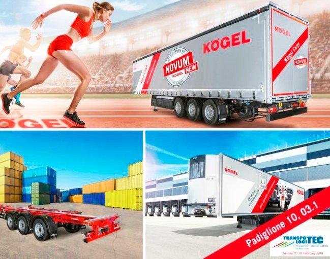 Kögel estará presente en Transpotec Logitec 2019 (Del cual ADR98 es distribuidor de recambios para España)