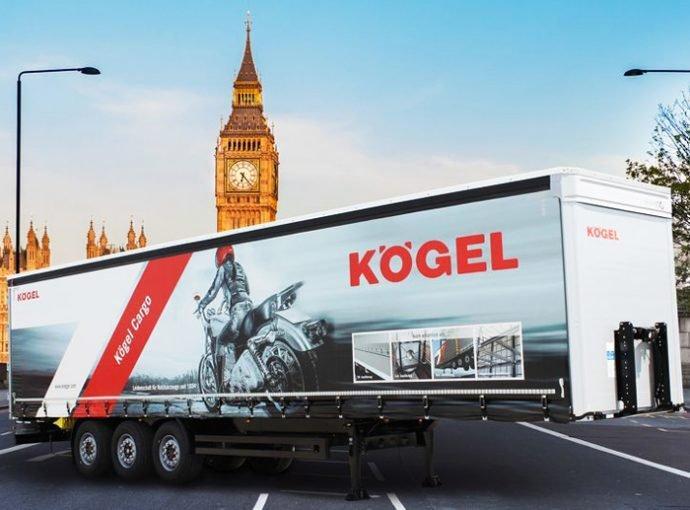 El nuevo semirremolque Kögel Cargo se presentará en Birmingham (Del cual ADR98 es distribudor de recambios para España)