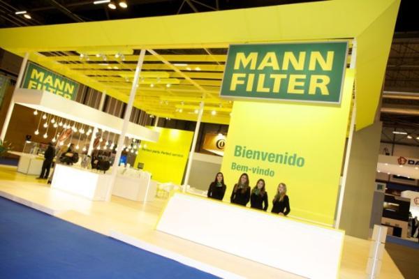 MANN-FILTER, preparada para la feria Motortec de Madrid